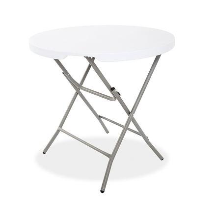 Pártystany Jičín Skládací bistro stolek - průměr 80cm, výška 75cm